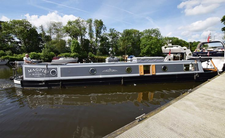Magpie - 55ft Traditional Colecraft Narrowboat 2008 - Rugby Boats