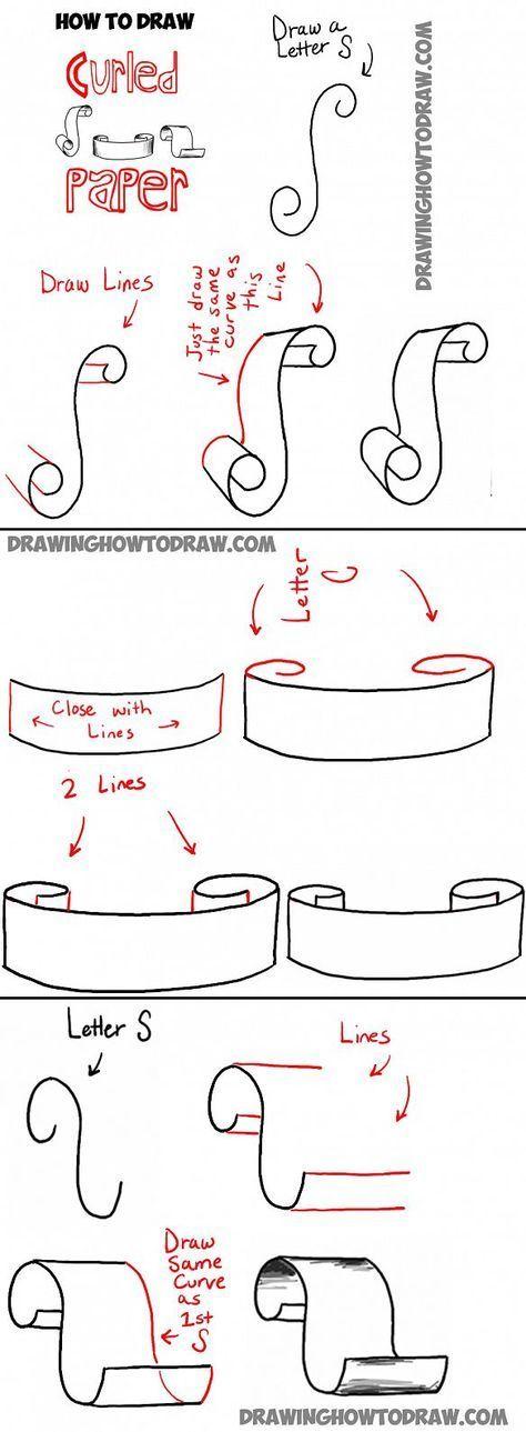 Wie man Banner zeichnet - Sketchnotes