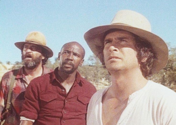 Charles (Michael Landon, r.), Henry (Louis Gossett jr., M.) und Murphy (Rich...