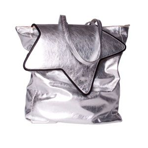 Star Tote Bag silver by Les Envers