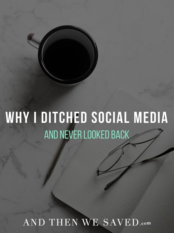 Why I Ditched Social Media and Never Looked Back - I've been off social media for a year now and it has been the best decision ever!!