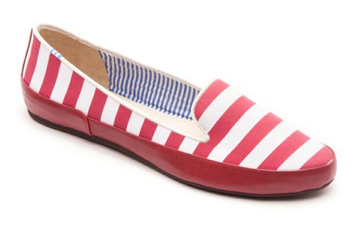 Gaby Red Stripes