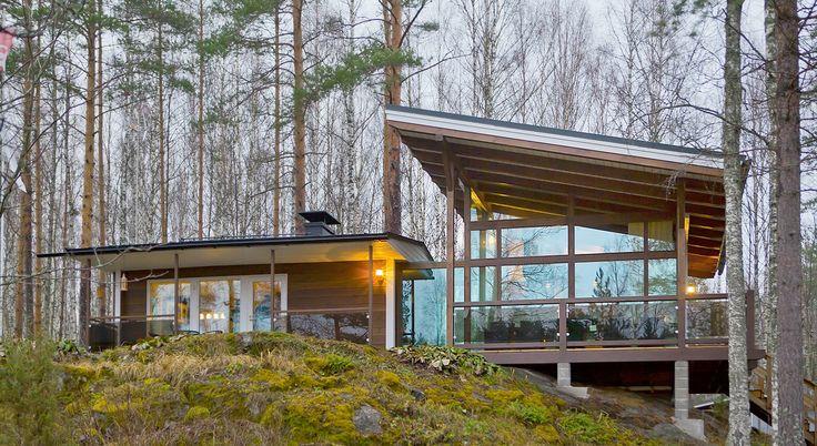 Modern Finnish Cottages From Timberkotifi Mkki Cabin Exteriors Summer Cabins Cottage