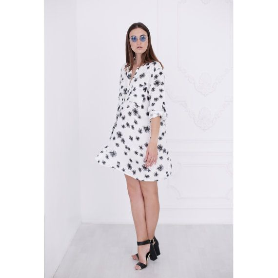 Give Me One More Chance Shirt Cotton Dress   #dress #country #style #floral #summer #boho#bohemian #festival #romantic #chiffon #floral #flowers #wome...