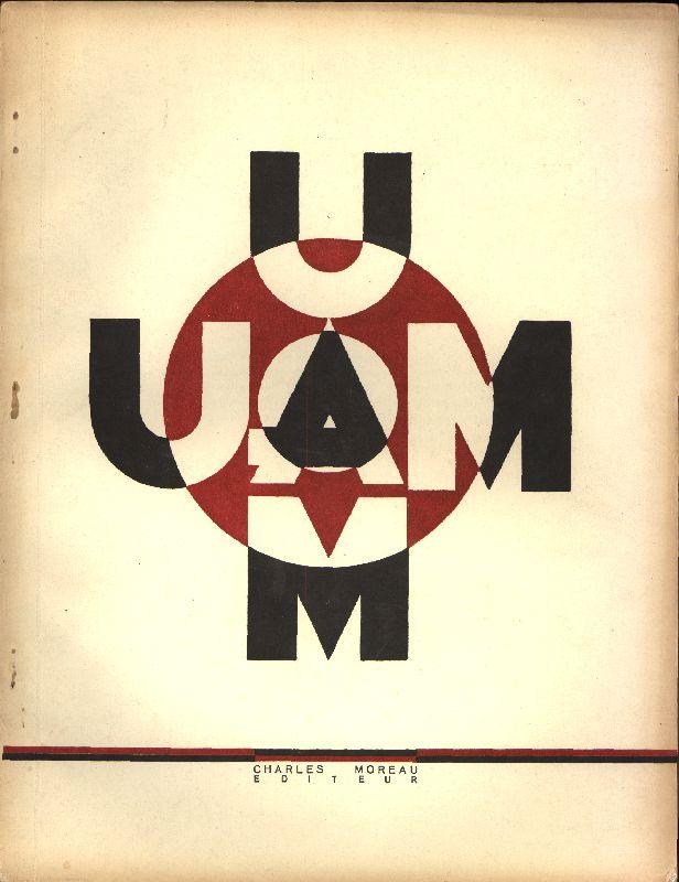 U.A.M, Union des artistes modernes, Paris, 1930?