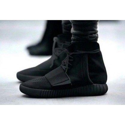 Authentic Adidas BB1839 Yeezy 750 Boost Black/Black-Black (Men Women)