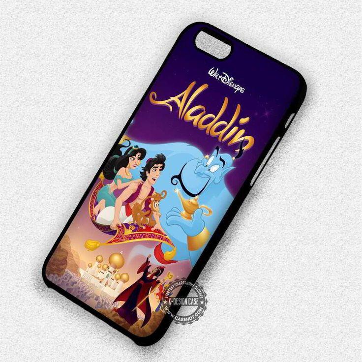 Poster Aladin Disney - iPhone 7 6 Plus 5c 5s SE Cases & Covers