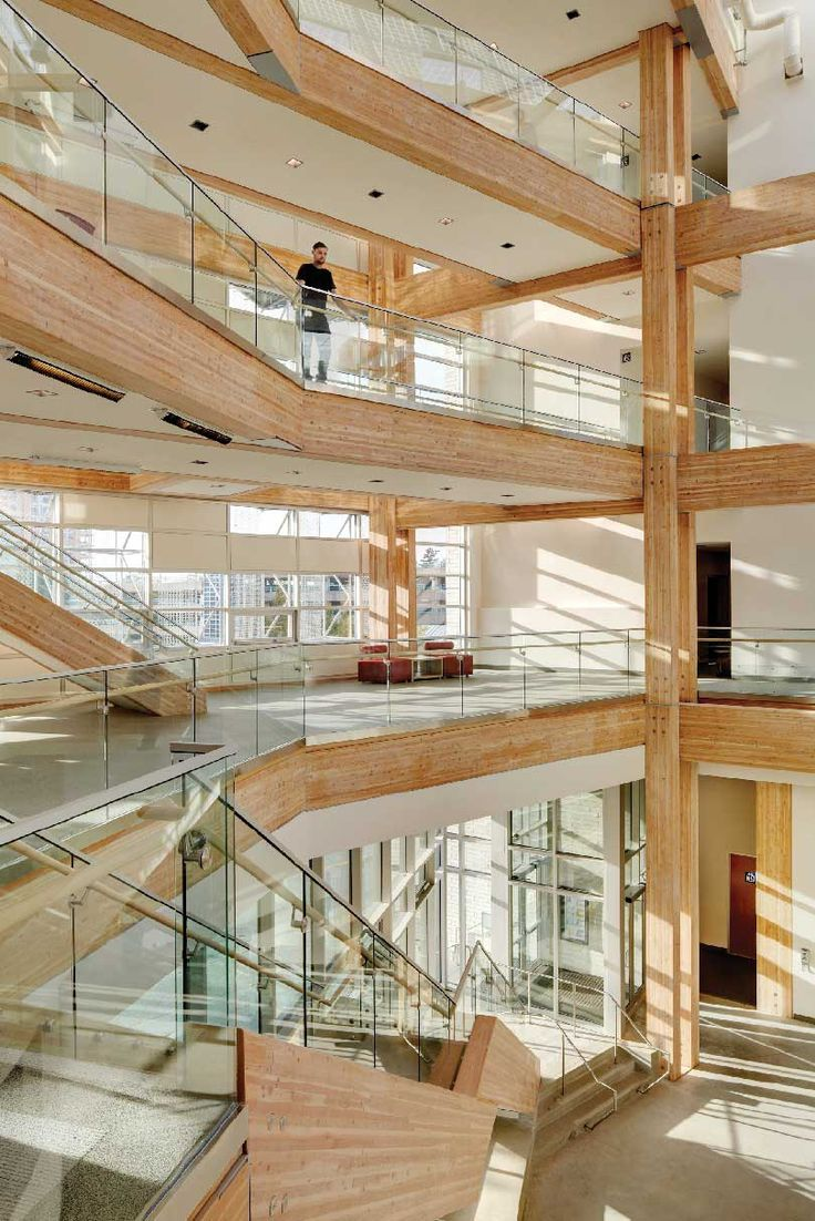 On the CIRS project at UBC, the fast track schedule, the scale of  the building and the university's existing product procurement policies made it impossible to achieve the Materials prerequisite for the Living Building Challenge. [Photo: Martin Tessler].