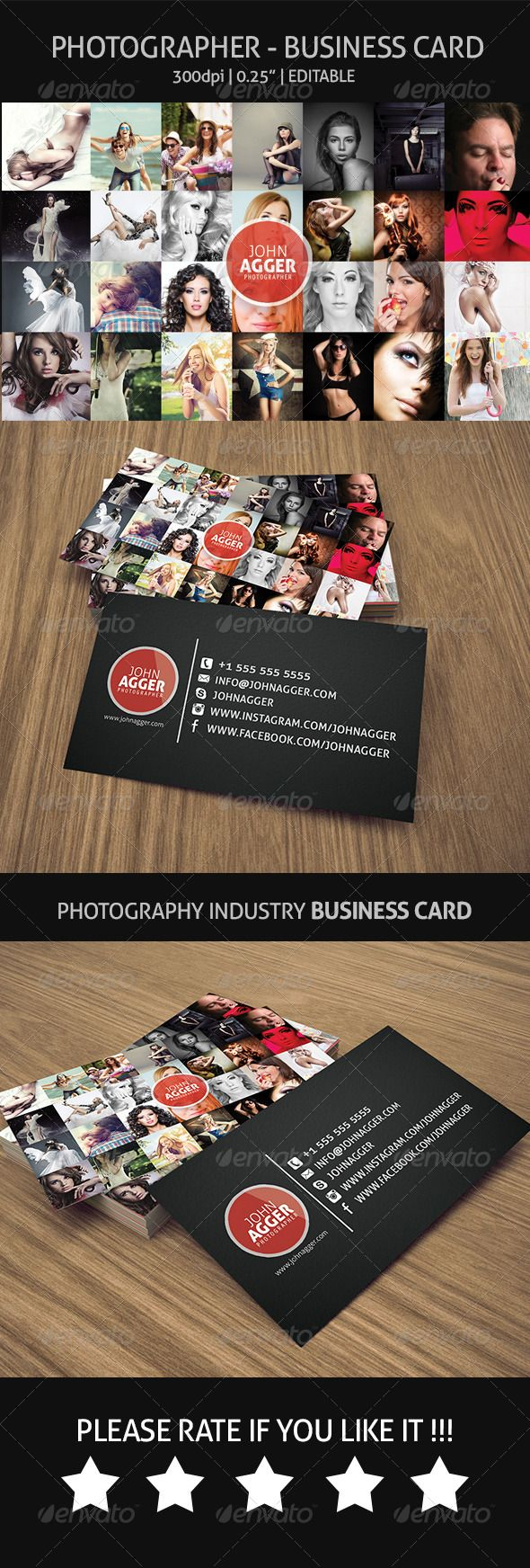 Photographer Business Card 18 best business