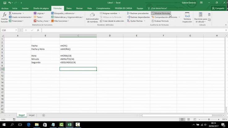 Formula para determinar fechas de vencimiento en Excel 2016