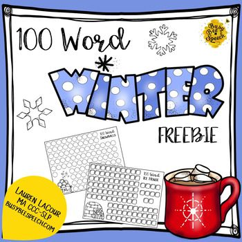 FREE This cute winter-themed product is ready to use and perfect to work a lot of trials!  Included are: 3 blank 100-trial worksheets1 100-word worksheet for /r/1 100-word worksheet for /s/1 100-word worksheet for /l/Use this with your articulation students on a cold day for lots of practice.