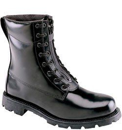 804-6446 Thorogood Men's Station Safety Boots - Black www.bootbay.com