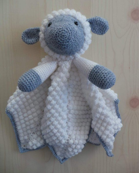 Liam The Lamb Baby Lovey Blanket Comforter Security