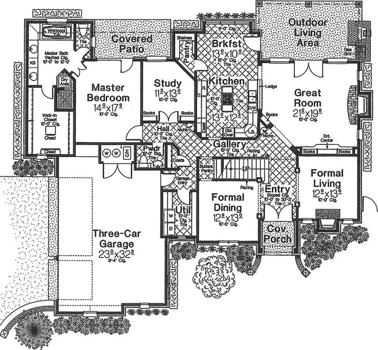 80 best House Plans images on Pinterest | Home plans, Country homes ...