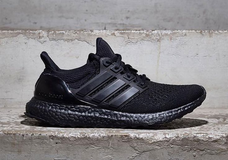 """With all these new colorways of the adidas Ultra Boost appearing, the popularity of this performance/lifestyle shoe has barely scratched the surface. Today we bring you a first look at the Ultra Boost """"Triple Black"""" with a first-ever all-black Boost … Continue reading →"""