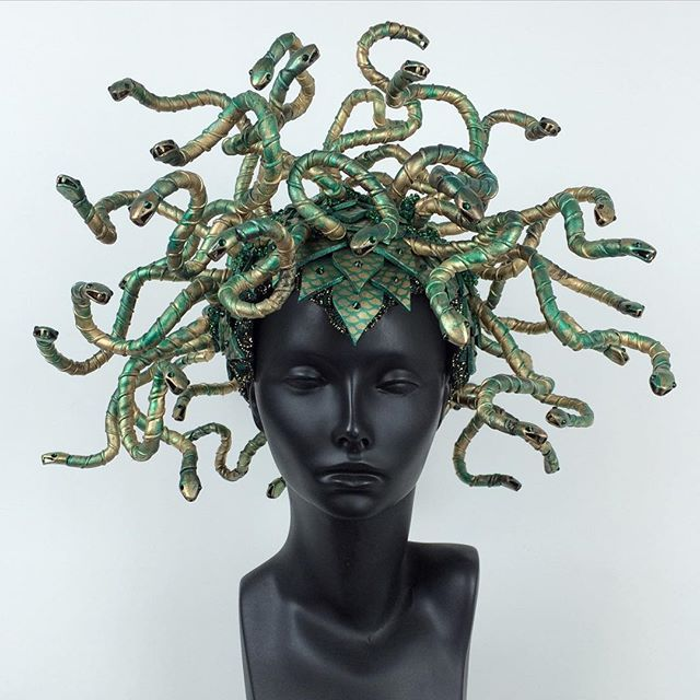 I Finally finished my last Medusa! She will be up in the shop at noon today. If…