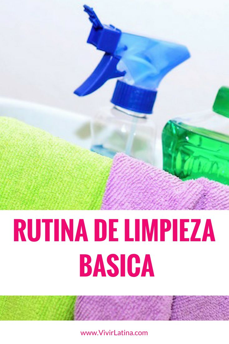 ¿Buscando una rutina de limpieza? Mira esta rutina de organización y limpieza que puede funcionar en tu hogar. Cuéntanos como te parece.