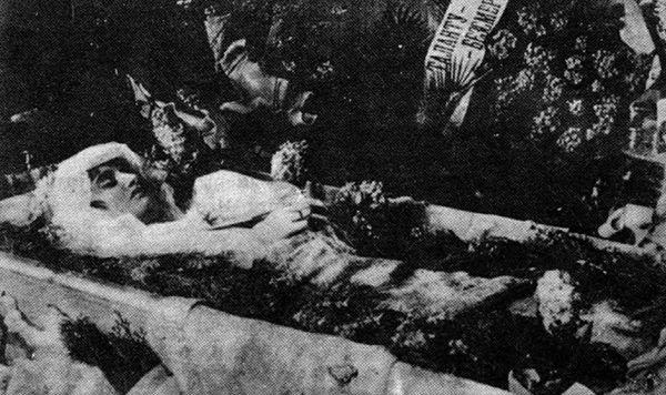 1919 год. Смерть Веры Холодной.
