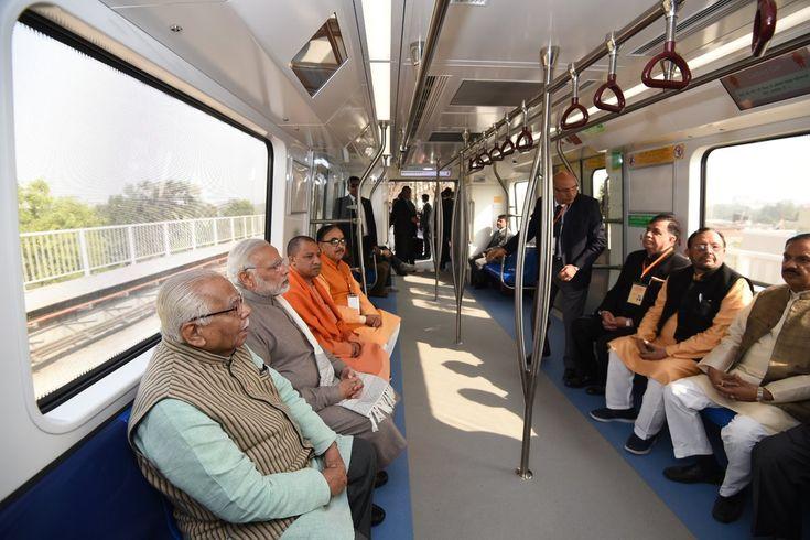 PM Narendra Modi Launches  Delhi Metro  Magenta Line