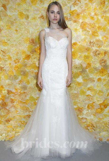 Nice Wedding Dresses with Illusion Necklines from Fall