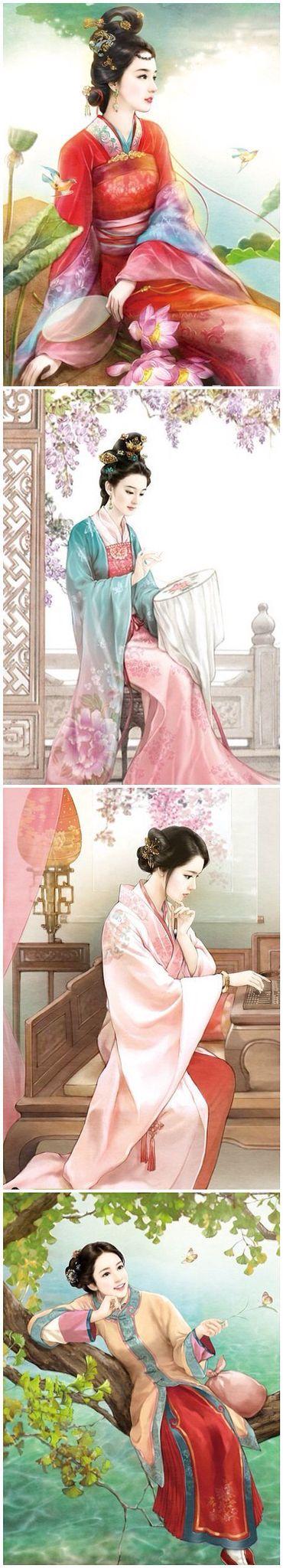 Art - Ancient Chinese Hanfu Fashion