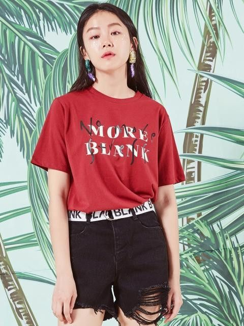 Blank [unisex] MORE T-RD