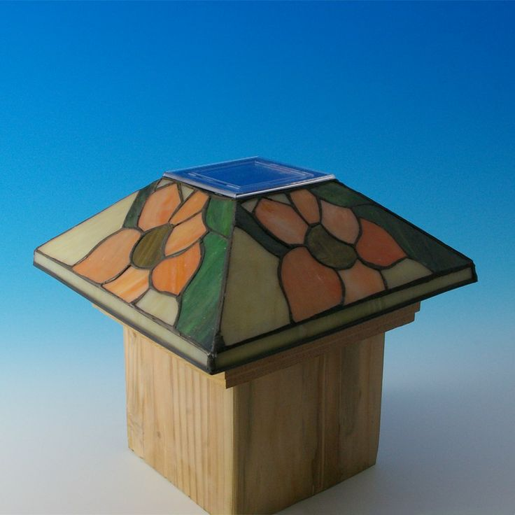 17 Best Deck Lights Images On Pinterest Stained Glass
