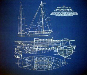 381 best boat plans images on pinterest boat plans boats and vintage east coast sailboat sloop sailing boat 1936 blueprint plan malvernweather Choice Image