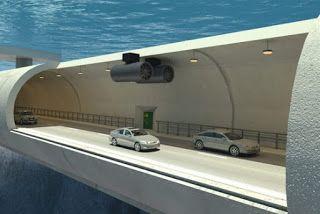 Pregopontocom Tudo: Engenheiros noruegueses querem construir o primeiro túnel flutuante no mar...