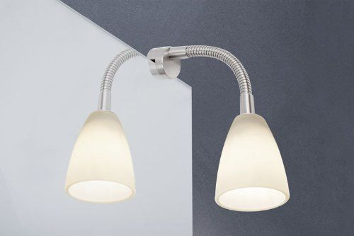 Paulmann Spiegellampe Klemmleuchte Spiegelbeleuchtung 40W 99081: Amazon.de: Beleuchtung
