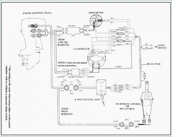 Yamaha Outboard Wiring Harness Diagram With Images Outboard