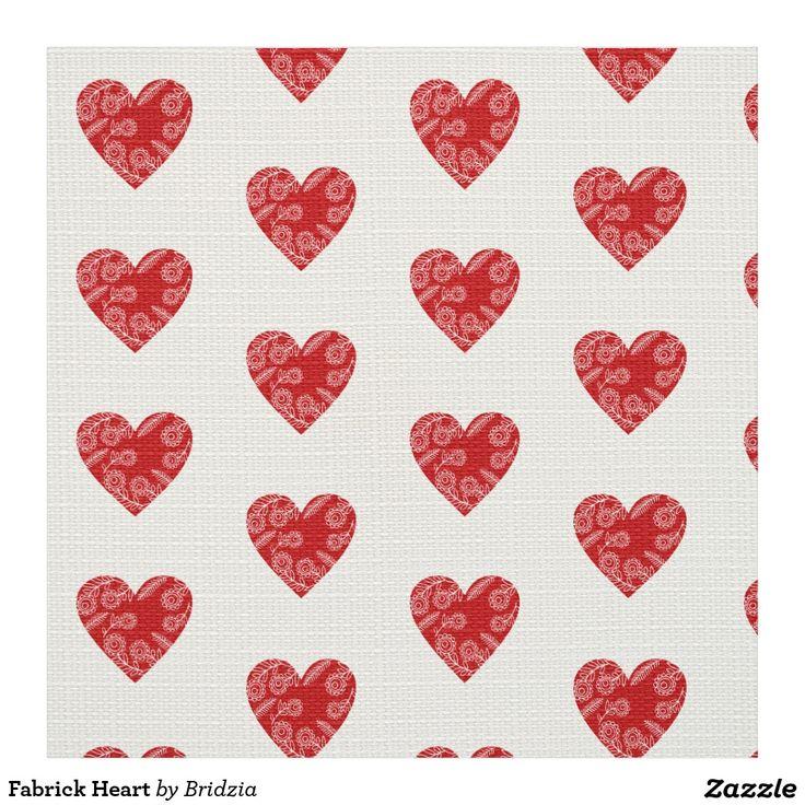 Fabrick Heart Fabric
