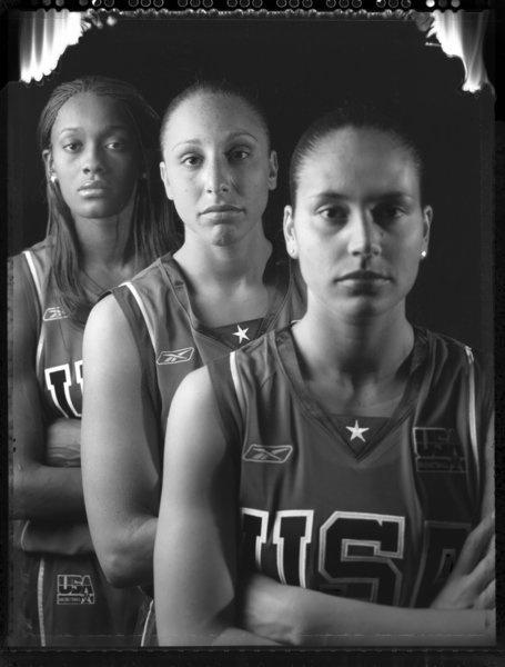 The 2012 U.S. Olympic basketball team will include six former UConn players: Sue Bird, Diana Taurasi, Asjha Jones, Tina Charles, Swin Cash and Maya Moore.
