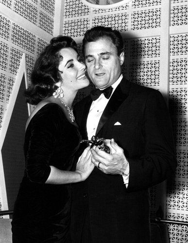 Elizabeth Taylor and Mike Todd circa 1957