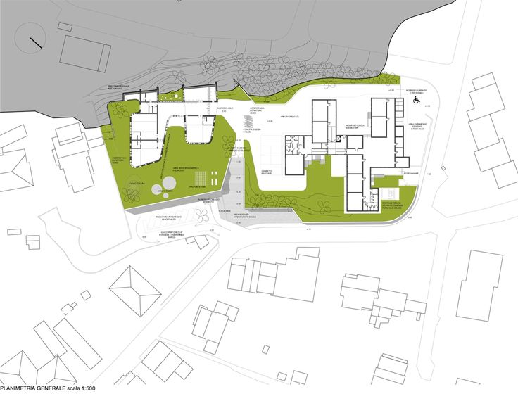 OPERASTUDIO - Competition - Nursery school #lecco #italy #masterplan