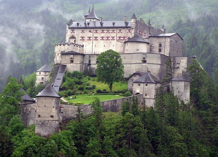 Hohenwerfen Castle, Herfern Austria: Salzburg, Favorite Places, Beautiful Castles, Beautiful Places, Places I D, Hohenwerfen Castles, Cathedrals, Herfern Austria, Visit