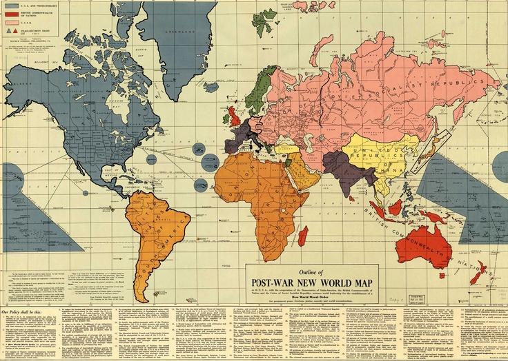 Post War Map