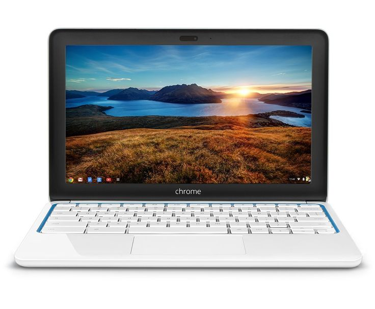 HP Chromebook 11-1101 (White/Blue) Price:$ $247.00& FREE Shipping.  You Save:$32.99 (12%)