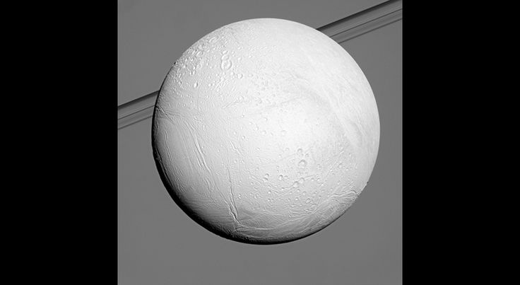 The Cassini spacecraft is gearing up for one last plunge through the water geysers on Enceladus, an icy moon of Saturn.