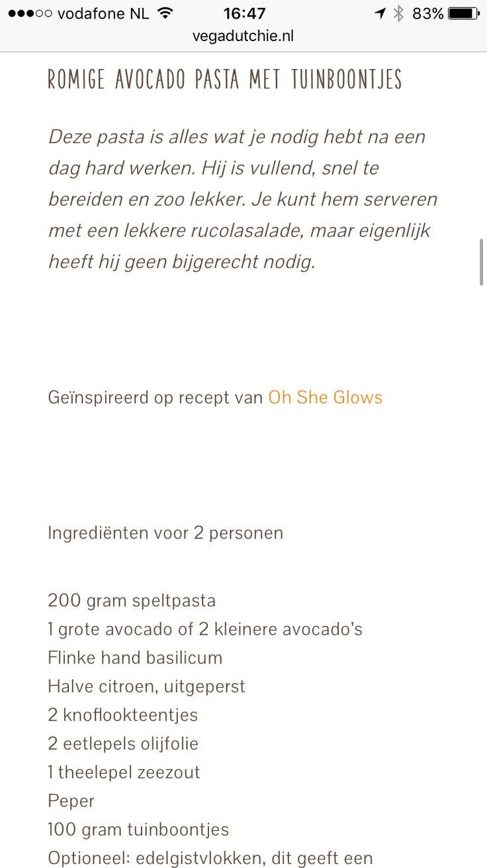 gnocchi, tomaat in saus uitje fruiten met vega shizzle