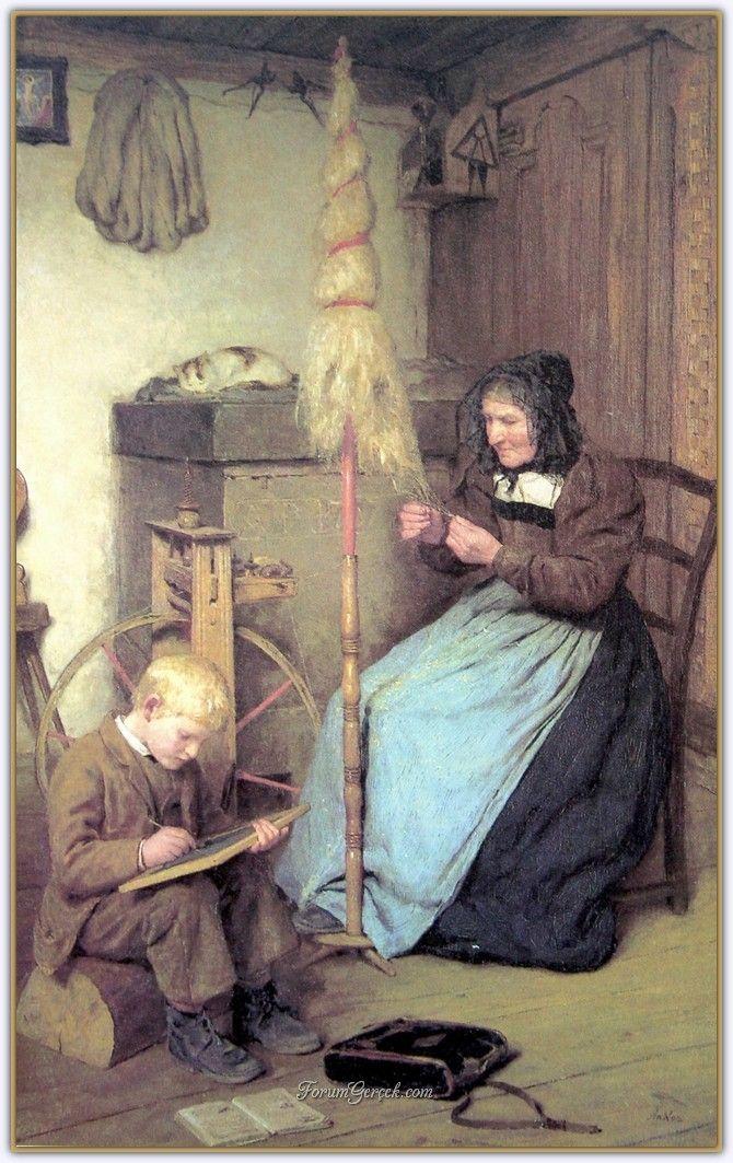 Albert Samuel Anker (1831 - 1910) | İsviçreli Ressam - Forum Gerçek