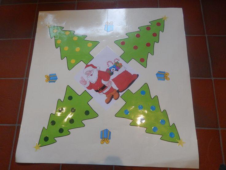 Het spel 'De Boomgaard' in het thema Kerstmis