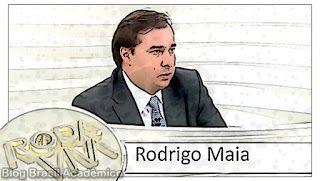 Rodrigo Maia no Roda Viva com Fact Checking  Identificamos 3 blefes 2 meias-verdades 1 informação sem contexto e 1 verdade na entrevista do novo presidente da Câmara ao Roda Viva da TV Cultura.  O deputado Rodrigo Maia (DEM-RJ) pode se tornar vice-presidente do país caso o Senado vote pelo impeachment da presidente Dilma Rousseff (PT) em agosto. Eleito presidente da Câmara para um mandato tampão que vai até fevereiro de 2017 após a renúncia de Eduardo Cunha (PMDB-RJ) ele ocupará a cadeira na…