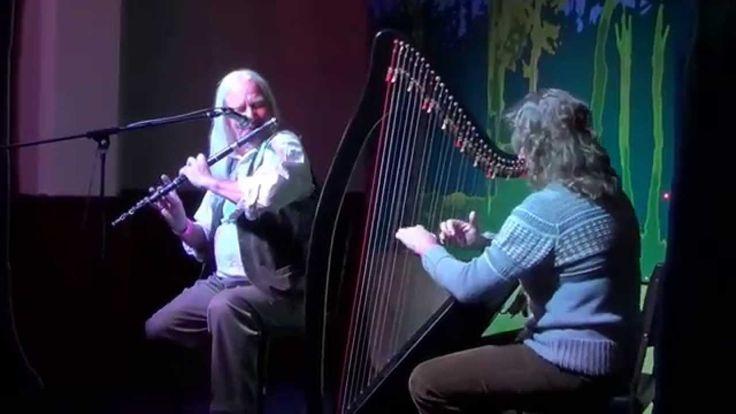 Brian The Flute and Deanna the Harp; Ciseán of Turf set; Jigs