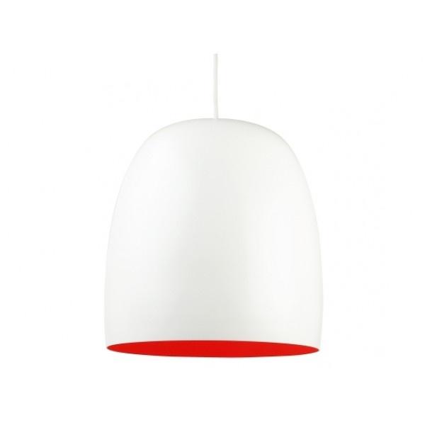Hanglamp Kalimero Wit - Oranje - DesignOnline24.nl