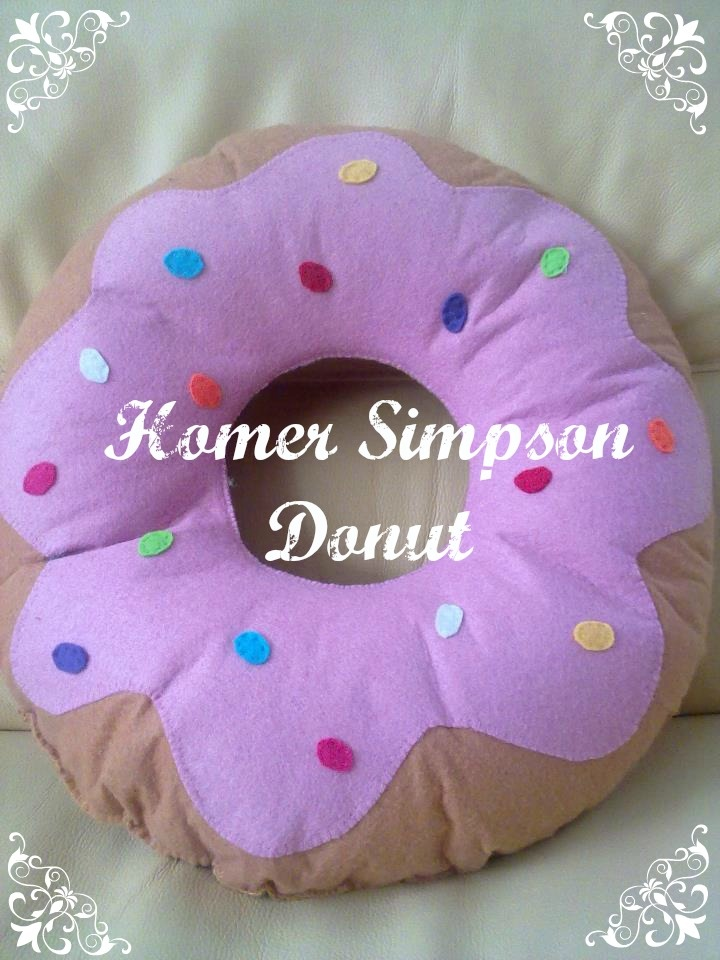 #homer simpson donut