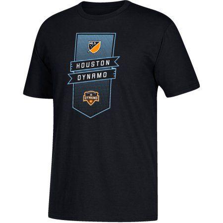 MLS-Houston Dynamo-Men's Club Banner Performance Tee, Black