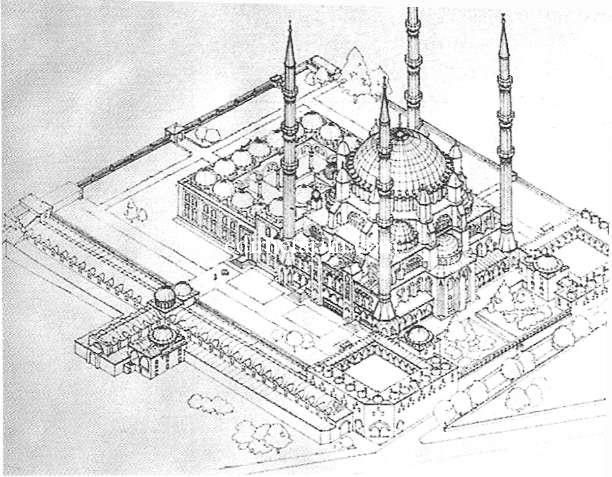 Selimiye Camii Minareleri Yapısı Özellikleri ve Söylenceleri | Edirne Tarihi