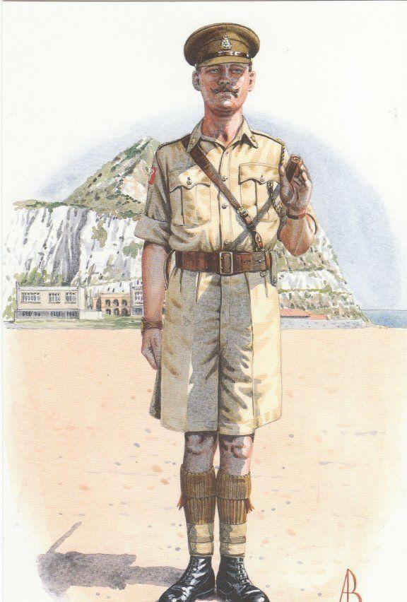 Regimental Sergeant Major 1st Bn. The Prince Of Wales's Own Regiment Of Yorkshire 1960