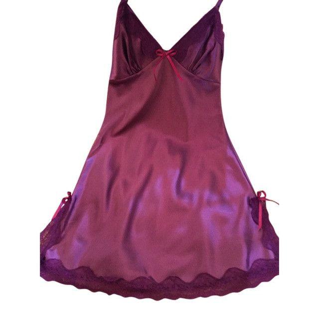 Plus Size Ladies Sexy Silk Satin Night Dress
